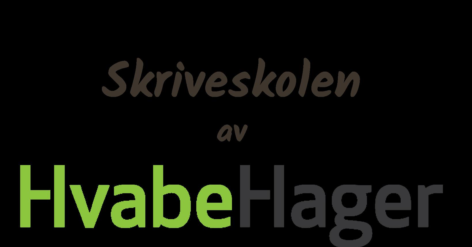 Skriveskolen av HvabeHager logo 1